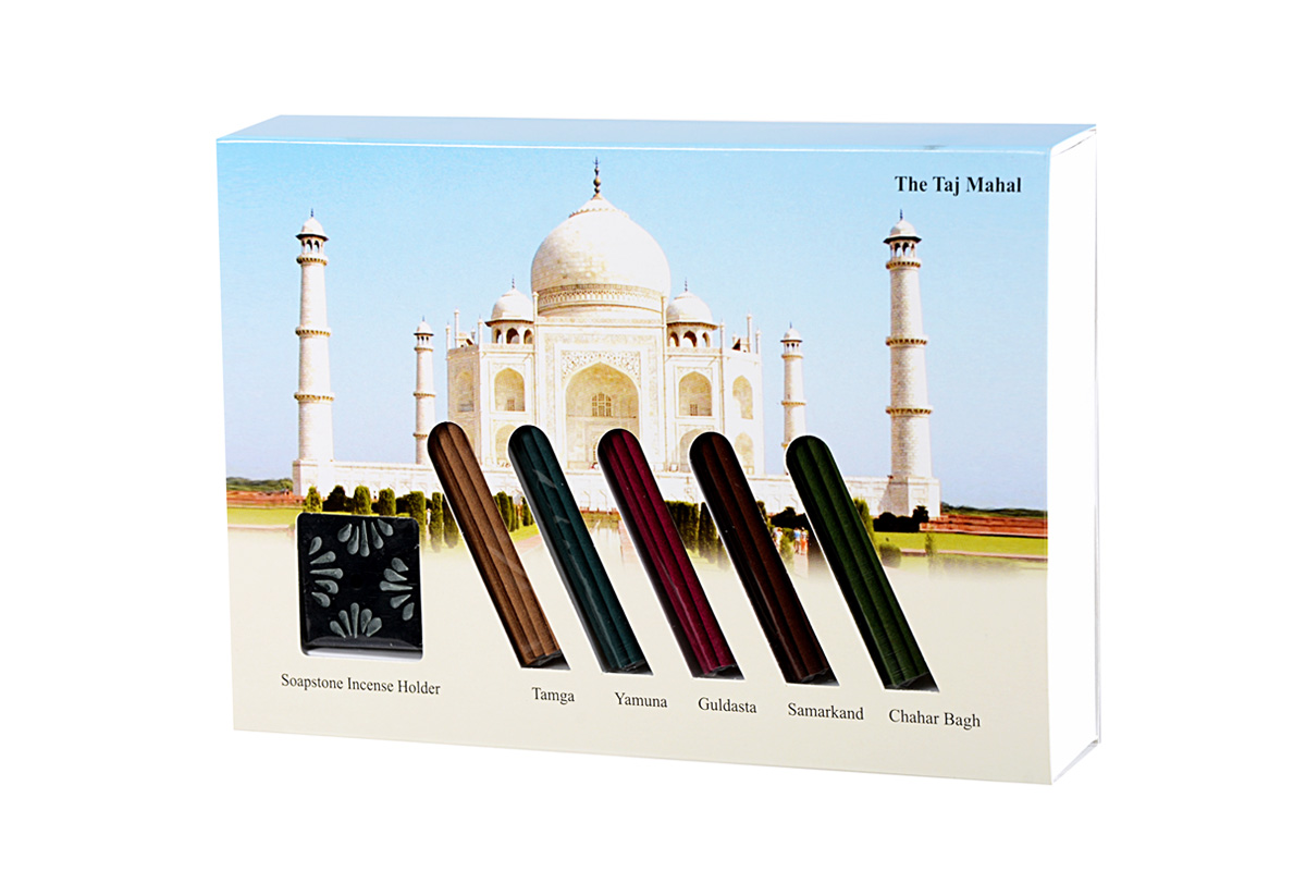 The Taj Mahal-Japanese Incense Sticks Gift Set (IGS - TAJ)