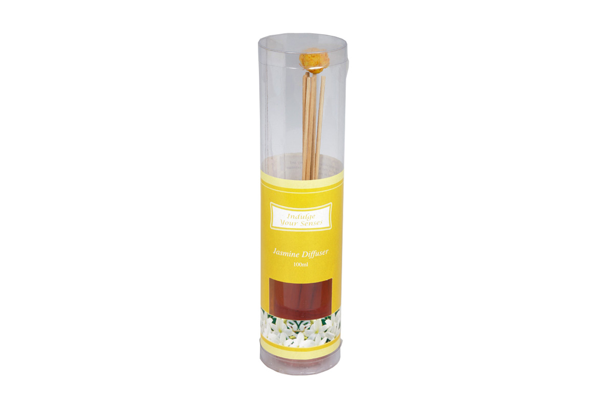 Jasmine-Reed Diffuser Set For Continous Fragrance Diffusion (R-5009/D)