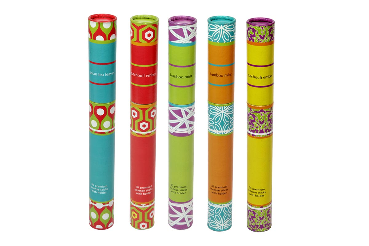 Spiral Paper Tubes -30 Incense Sticks (A - 1081)