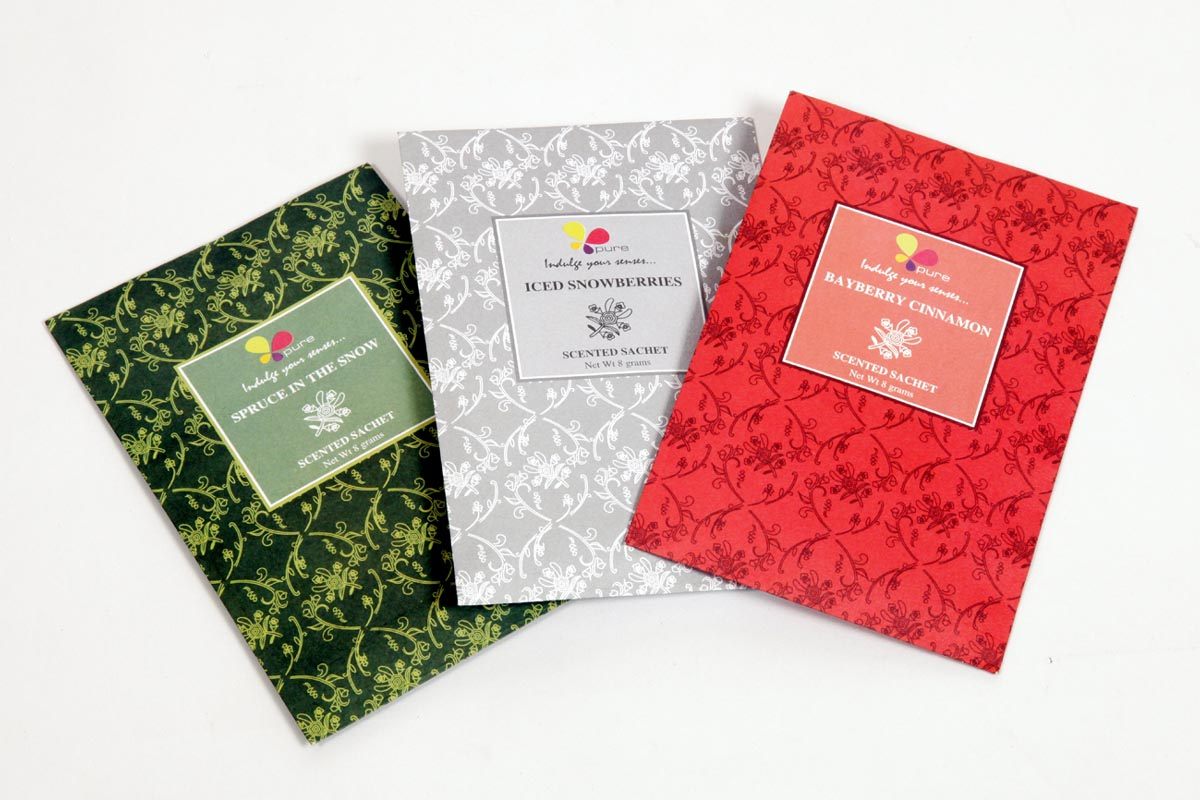 Scented- Paper Sachets (SHT - 1)