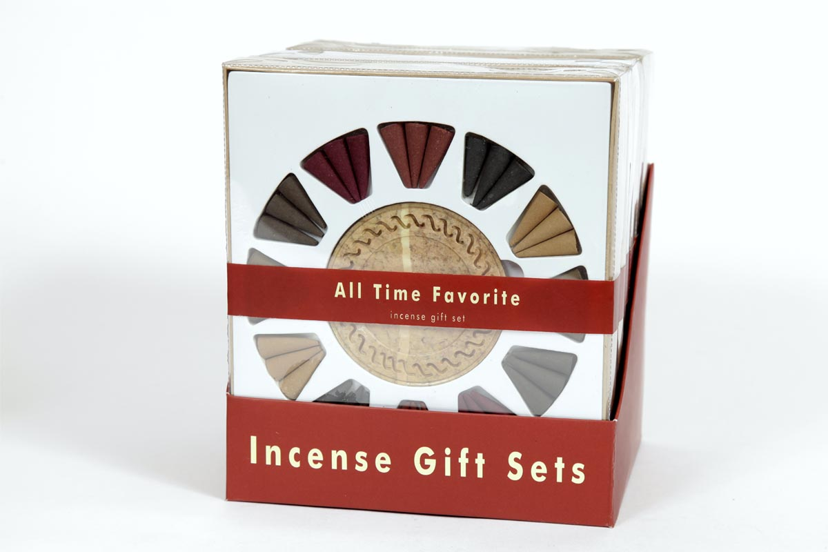 All Time Favorite- Incense Cone Gift Set (IGS - 2014)