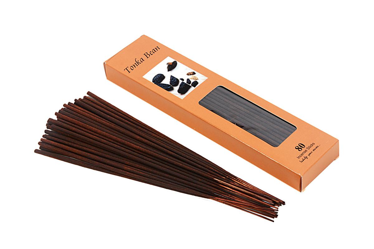 Tonka Bean-80 Incense Sticks Pack (80's/A)