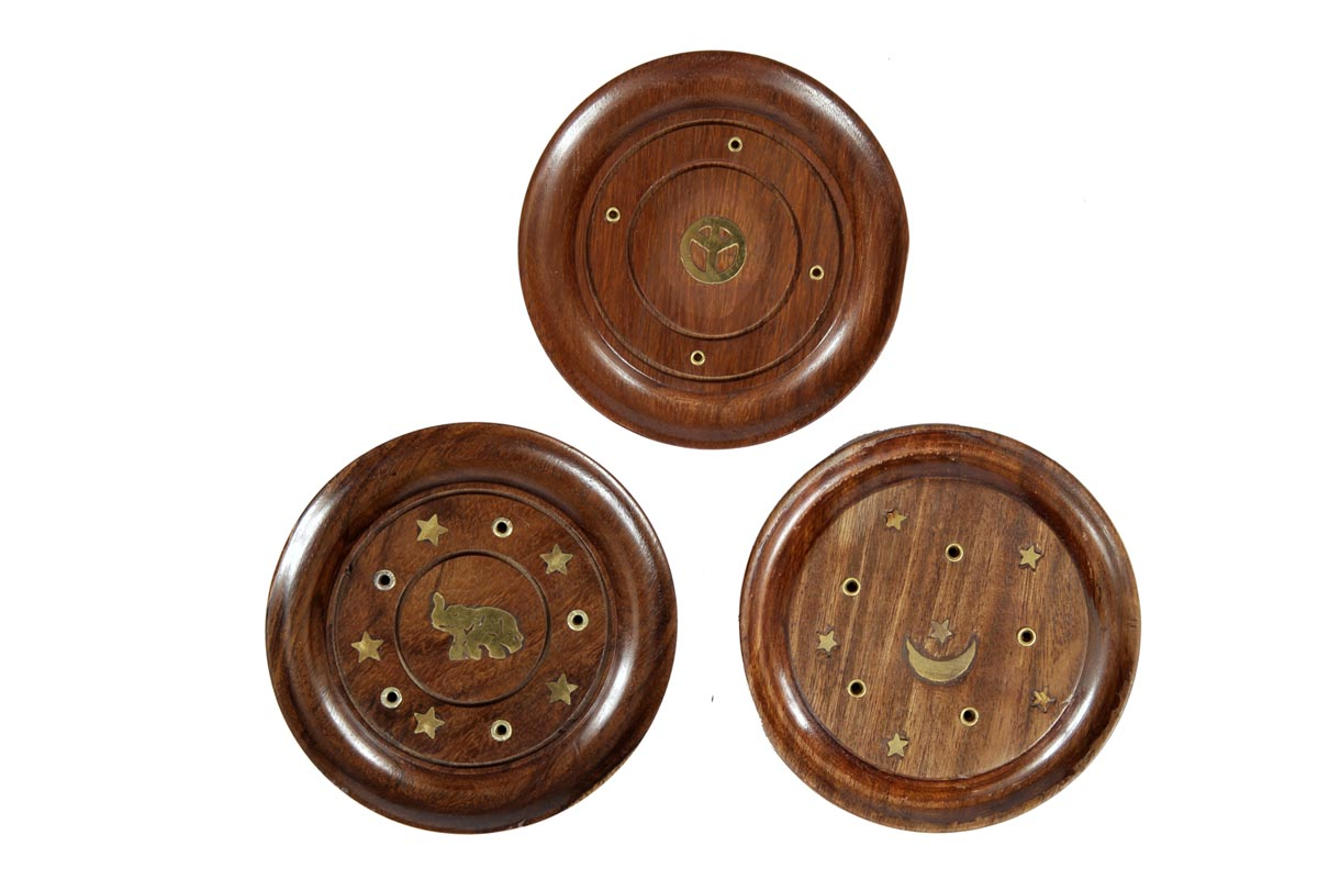 Wooden Incense Holders (WDN - 2)
