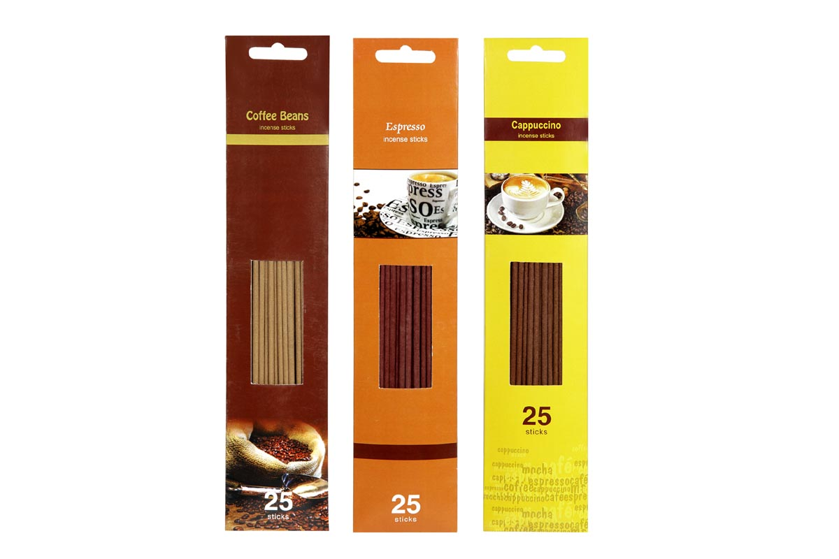 Coffee Range-25 Incense Stick Packs (CFE - 3)