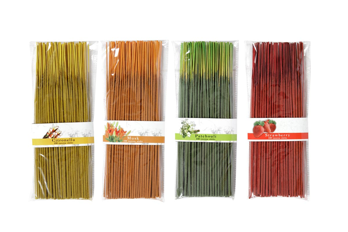 100 Incense Stick Packs (100'S)