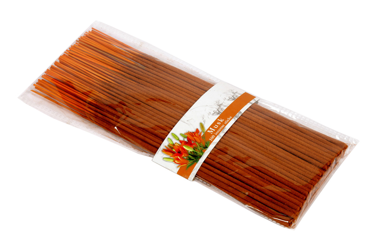 Musk-100 Incense Sticks Pack (100's/J)