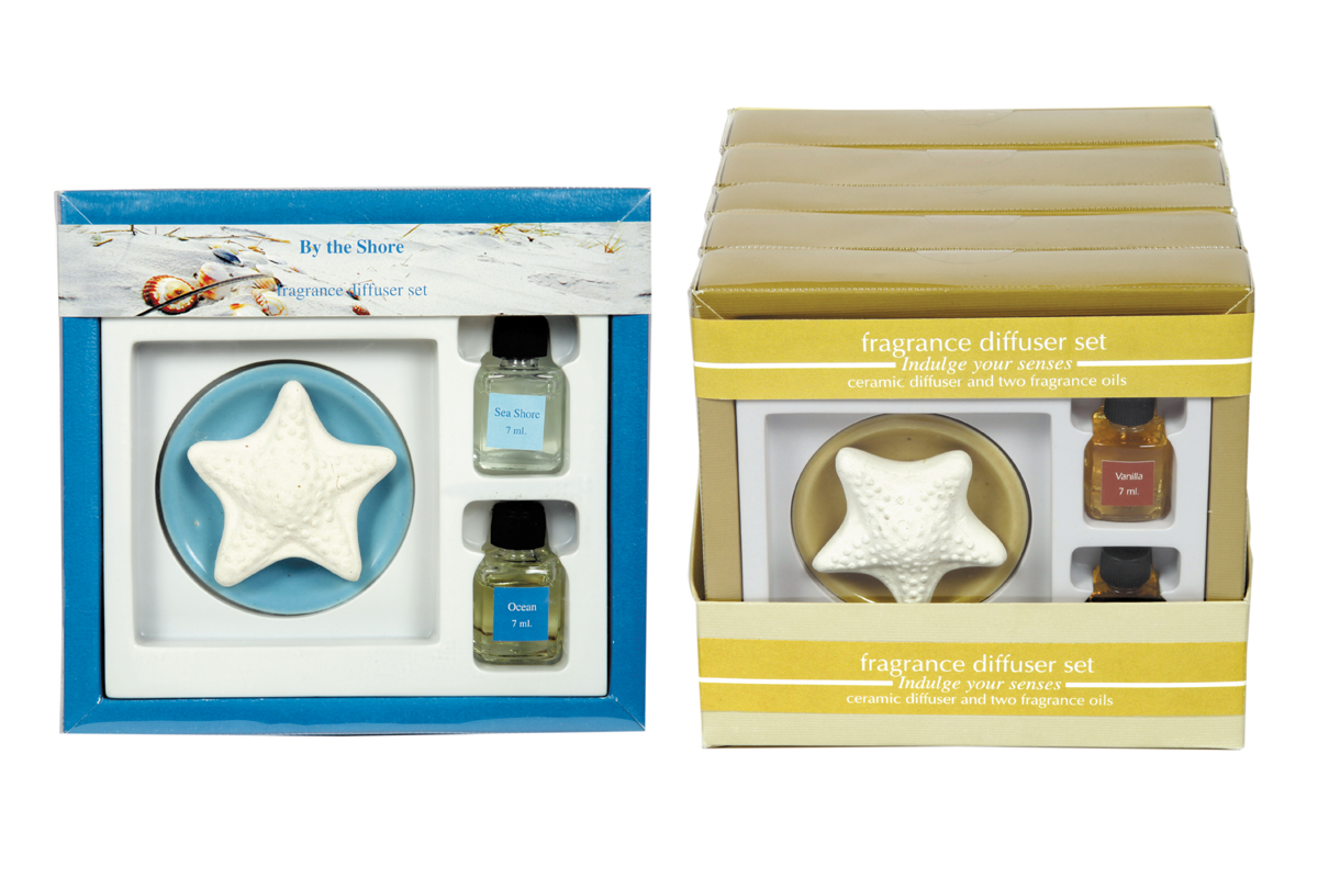 Star Fish- Table Fragrance Diffuser Sets (FBB - 12)