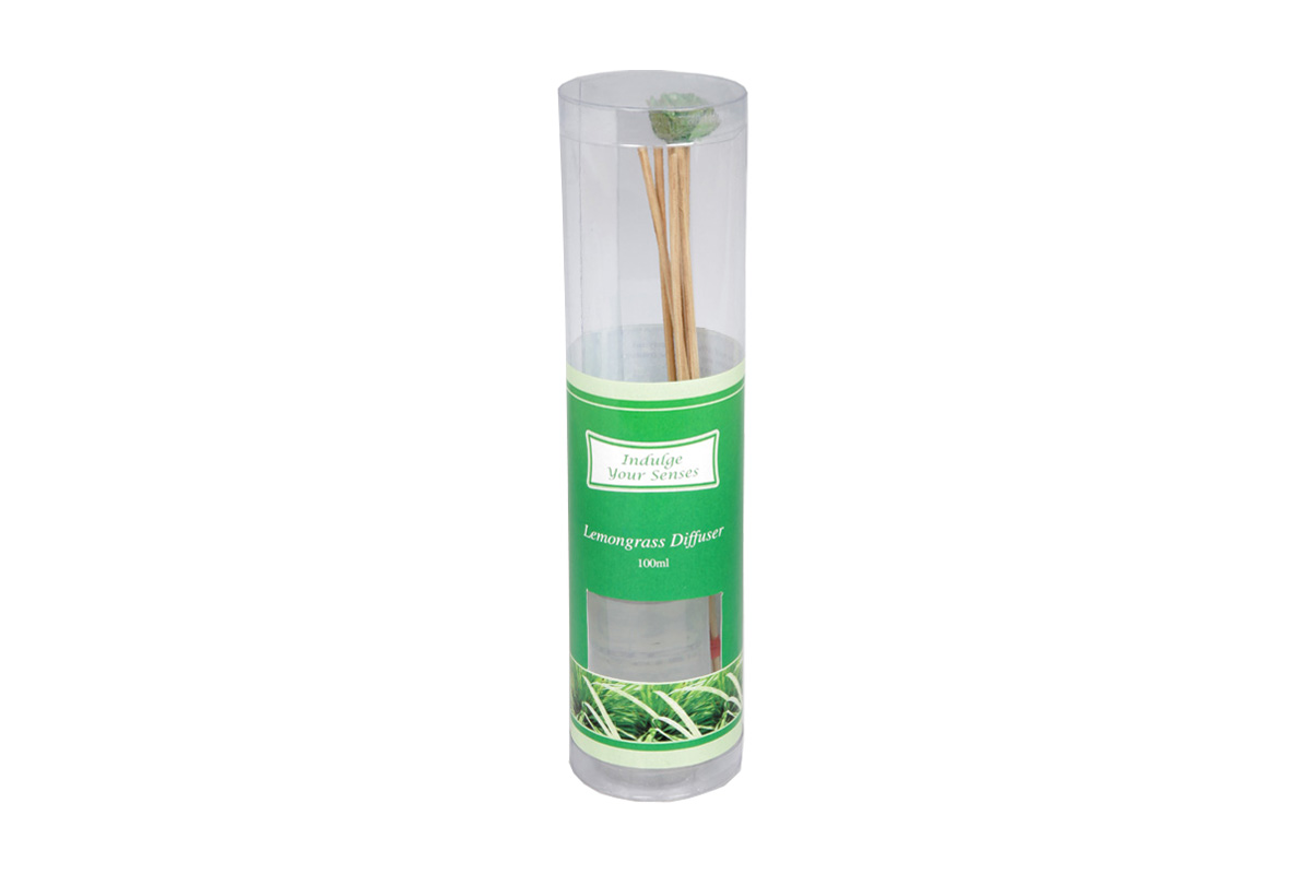 Lemongrass-Reed Diffuser Set For Continous Fragrance Diffusion (R-5009/B)