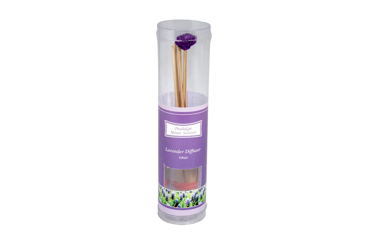 Lavender-Reed Diffuser Set For Continous Fragrance Diffusion (R-5009/C)