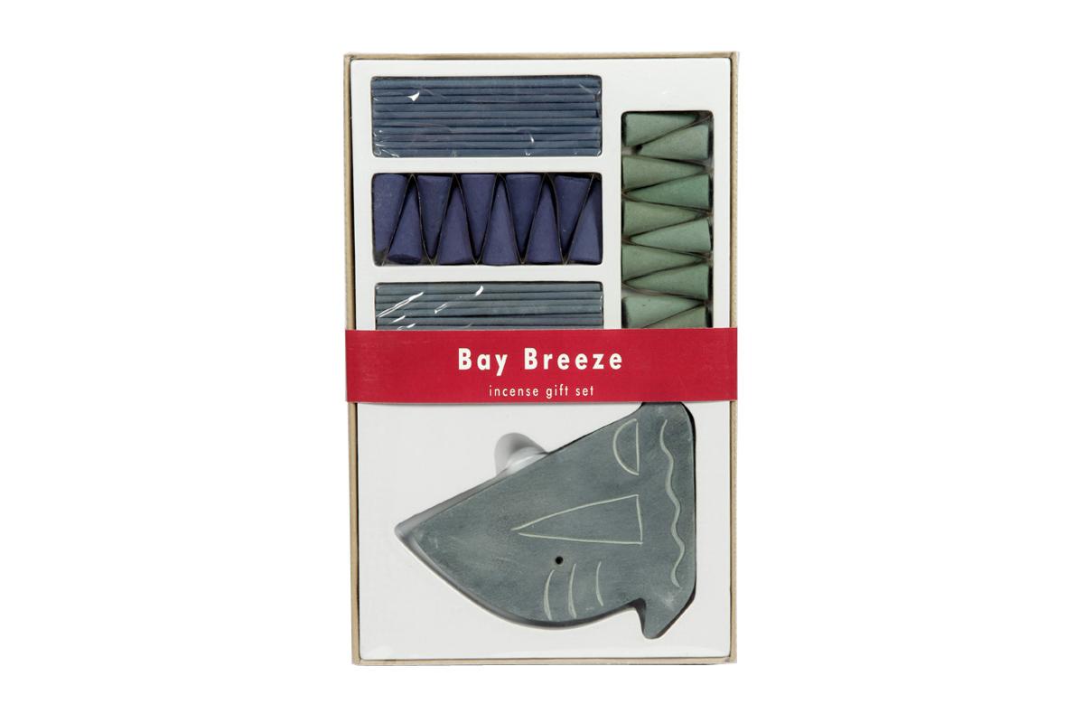 Bay Breeze-Incense Sticks & Cones Gift Set (IGS - 2007)