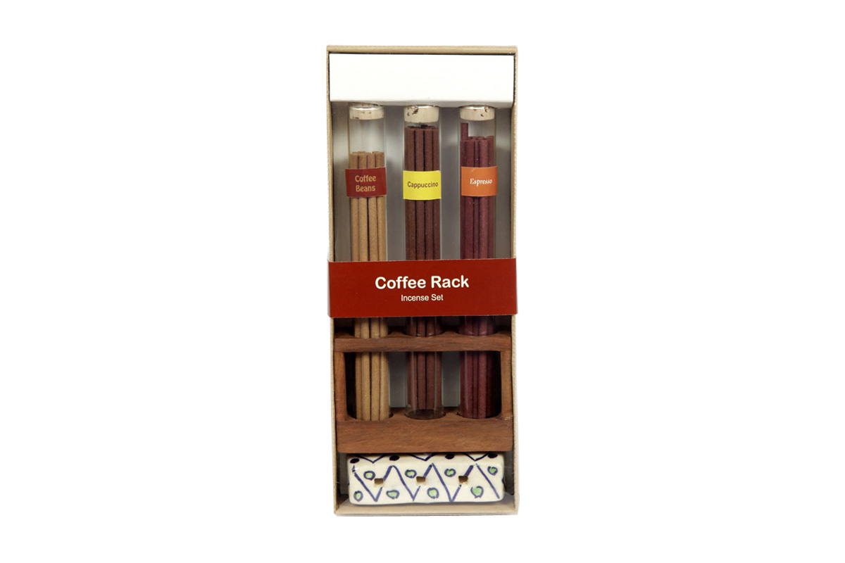 Coffee Rack-Japanese Incense Sticks Set  (IGS - 2015/B)