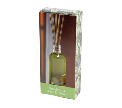 Eucalyptus-Reed Diffuser Set For Continous Fragrance Diffusion (R-5008/B)
