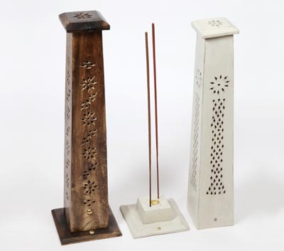 Wooden Incense Stick Tower Burners (WDN - 4)