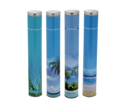 Ocean Range- 40 Incense Stick Tin Cans (OCN - 1)