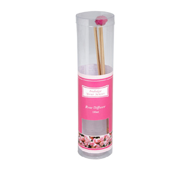Rose-Reed Diffuser Set For Continous Fragrance Diffusion (R-5009/A)