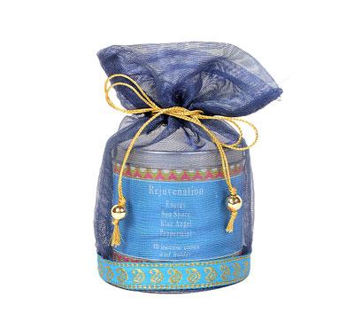 Rejuvenation-40 Incense Cones Tin Can in a Decorative Tissue Bag (A-1026N/E)