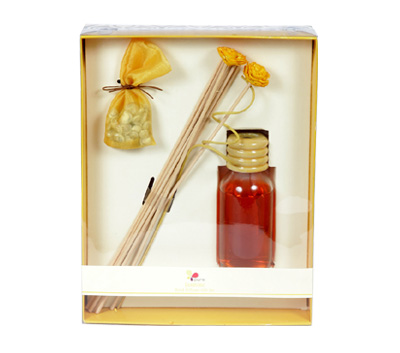 Jasmine-Reed Diffuser Set For Continous Fragrance Diffusion (R-5001/D)