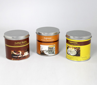Coffee Range- 40 Incense Cone Tin Cans (CFE - 2)