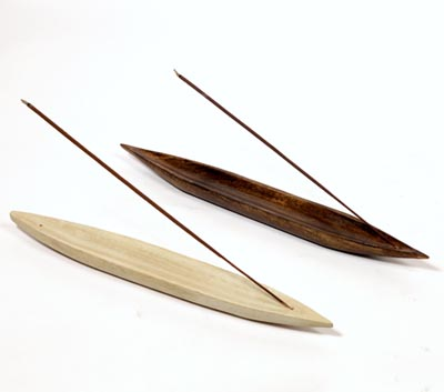 Wooden Boat Incense Stick Holders (WDN - 6)