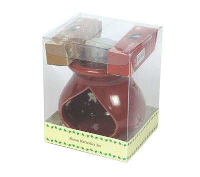 Ceramic Oil Burner-Room Refresher Set (O-6023/A)