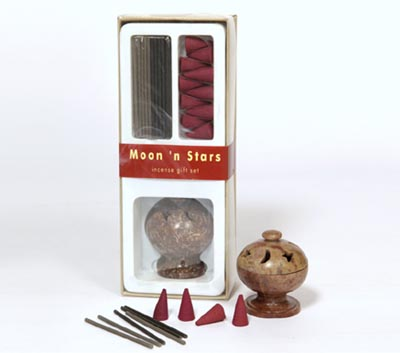 Moon 'n Stars- Incense Stick & Cone Gift Set (IGS - 2016)